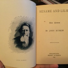 portrait and title page.